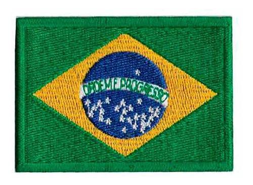 patch bordado - bandeira brasil bd50015