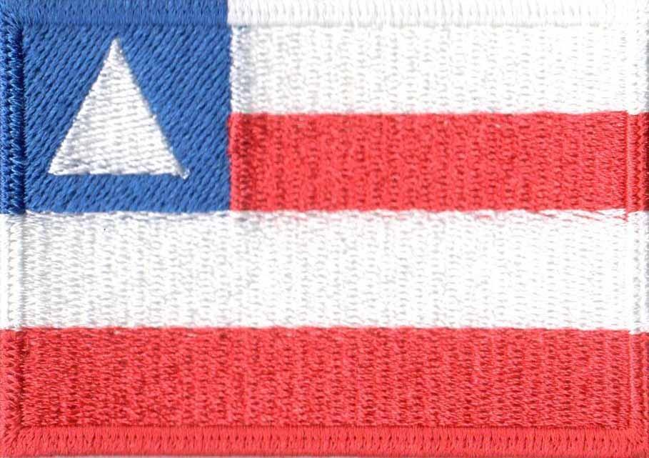 ea829a76da9ff Patch Bordado - Bandeira Da Bahia Bd50121 - R  18
