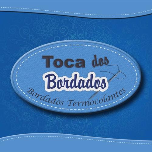 patch bordado bandeira do brasil c/ fix velcro® 5x7cm bdp1