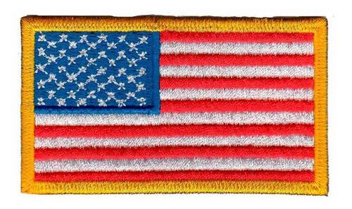 patch bordado - bandeira estados unidos usa bd50042