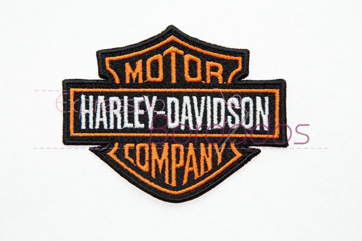 Patch bordado harley davidson motorcycles company aplique for Harley davidson motor co