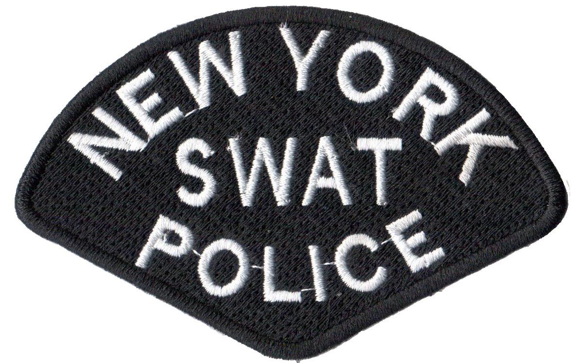 Patch Bordado P  Roupa Bone Policia Swat New Nova York - R  18 d6259b39745