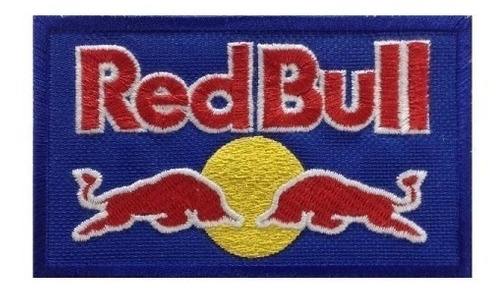patch bordado red bull 10x6,5cm com termocolante