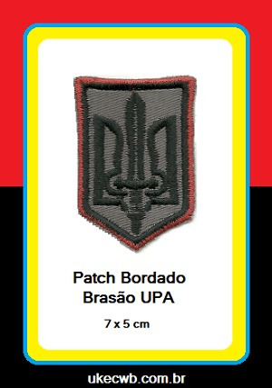 patch bordado ucraniano oun / upa