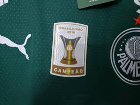 df2474cb4a523 Camisa Palmeiras Com Patch De Campeão Brasileiro - Futebol no Mercado Livre  Brasil