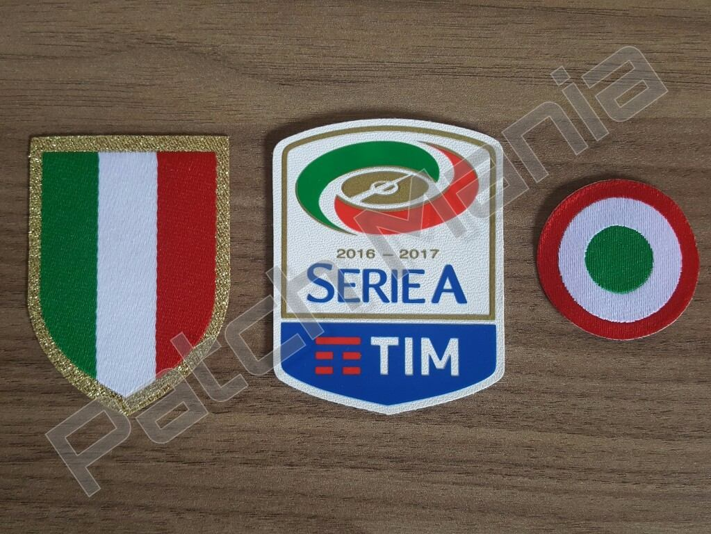 Patch Campeão Italiano + Copa Itália + Serie A 2016 2017 - R  62 37f26caf2c0a7
