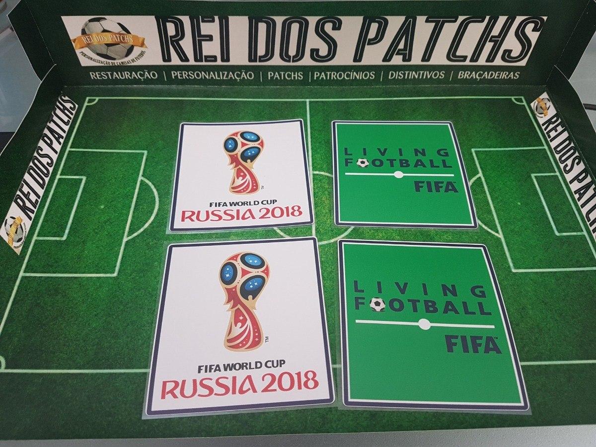 patch copa do mundo russia 2018 seleção. Carregando zoom. 315dafd0bea70