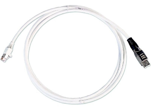 patch cord 7a estandar de 3metros amp blanco 4 pares