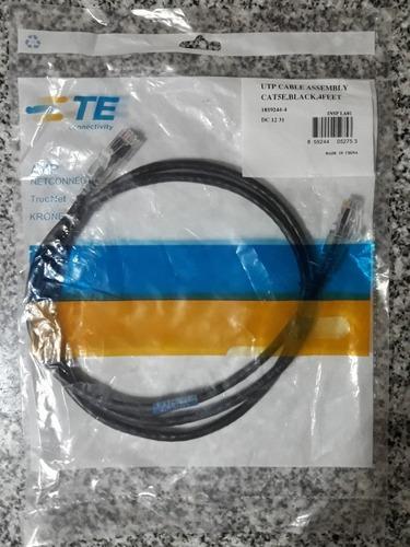 patch cord amp 4 feet (1,2 mts) cat 5e