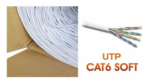 patch cord / cable red utp cat. 6 interior miokee 305 mts.