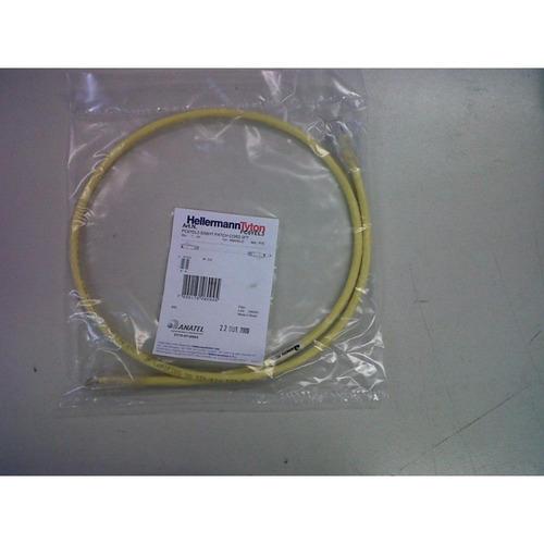 patch cord categoria 5e 2,1m 7p hellermann tyton