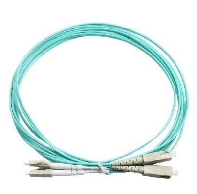 patch cord de fibra  lc-sc om3 de 1.5 mts