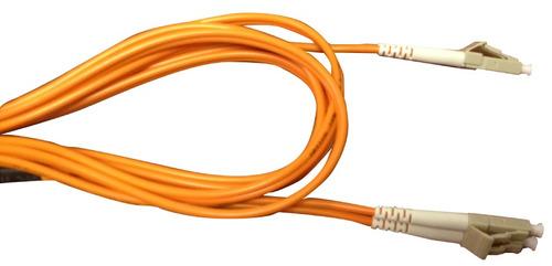 patch cord fibra optica multimodo lc lc duplex 3mts qpcom