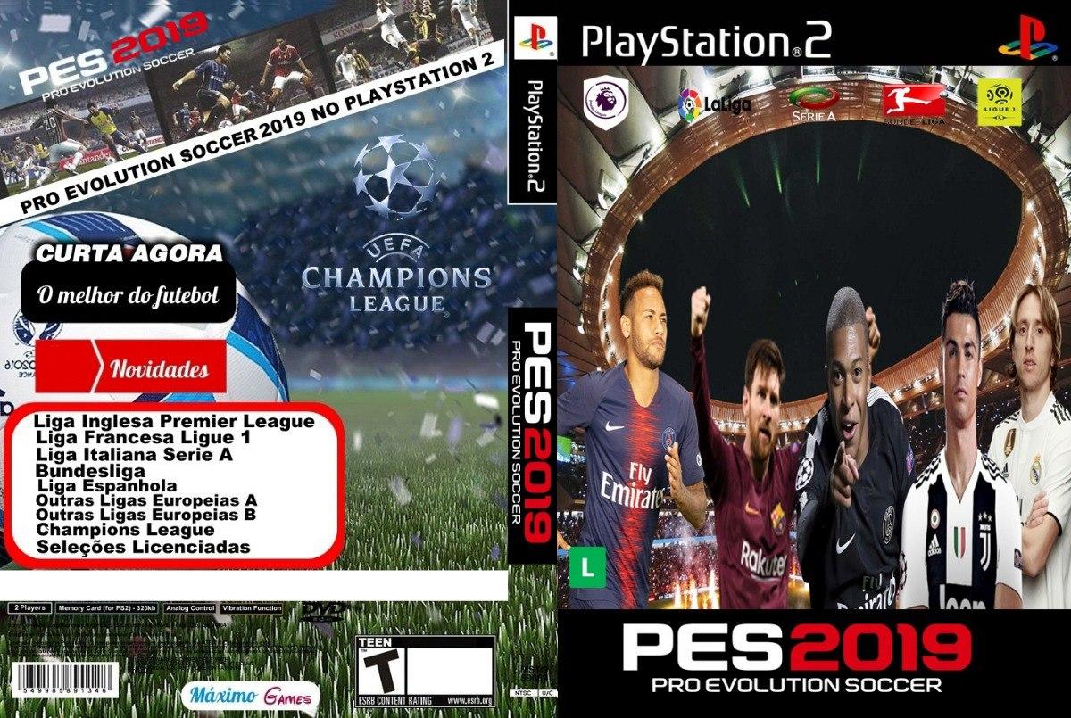 Patch Europeu Pes 2018/19 Atualizado Playstation 2 Dezembro
