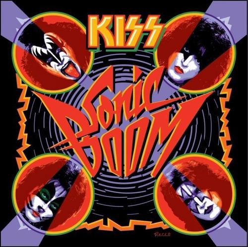 patch kiss - sonic boom - 20x20