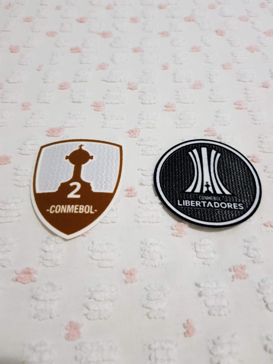 Patch Libertadores Camisas Grêmio Flamengo São Paulo Santos - R  30 ... 086a0c3314381