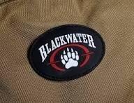 patch militar emborrachado - blackwater
