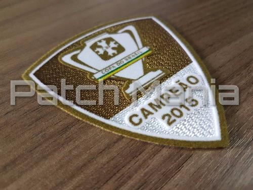 patch oficial campeão copa do brasil 2015 - palmeiras