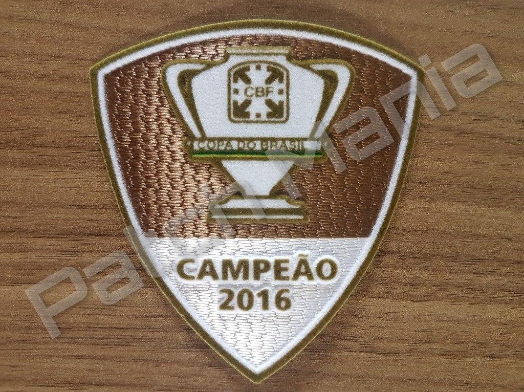 Patch Oficial Campeão Copa Do Brasil 2016 - Grêmio - R  20 e553023fdae42