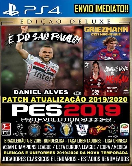 Patch Option File Pes 19 Atualização Brasileiro Elencos 2019