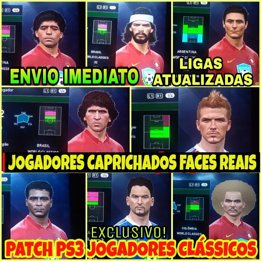 Patch Pes 2018 Ps3 Com Paqueta No Milan E Novos Uniformes - R  16 047765468ef01