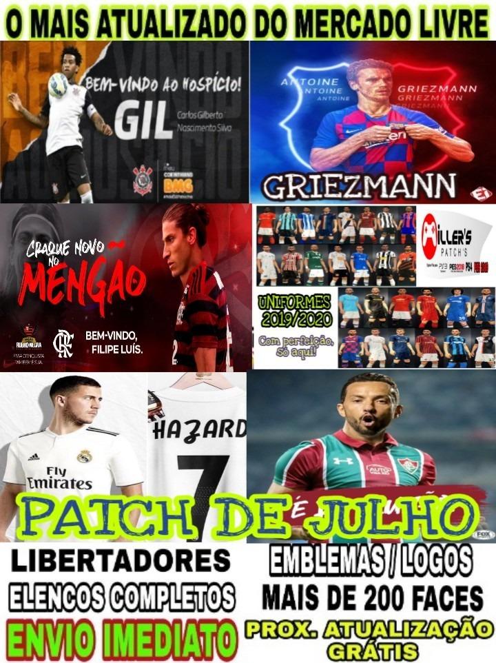 0d8104212d38c Patch Pes 2018 Ps3 Edição De Faces, Uniformes, Estadios 2020 - R$ 16 ...