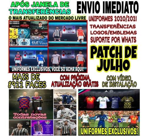 patch pes 2018 ps3 edição de faces, uniformes, estadios 2020