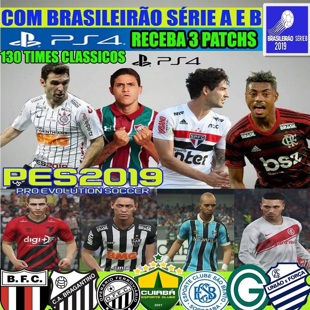 Patch Pes 2019 Option File Ps4 Versao Ouro Brasileirao Ab