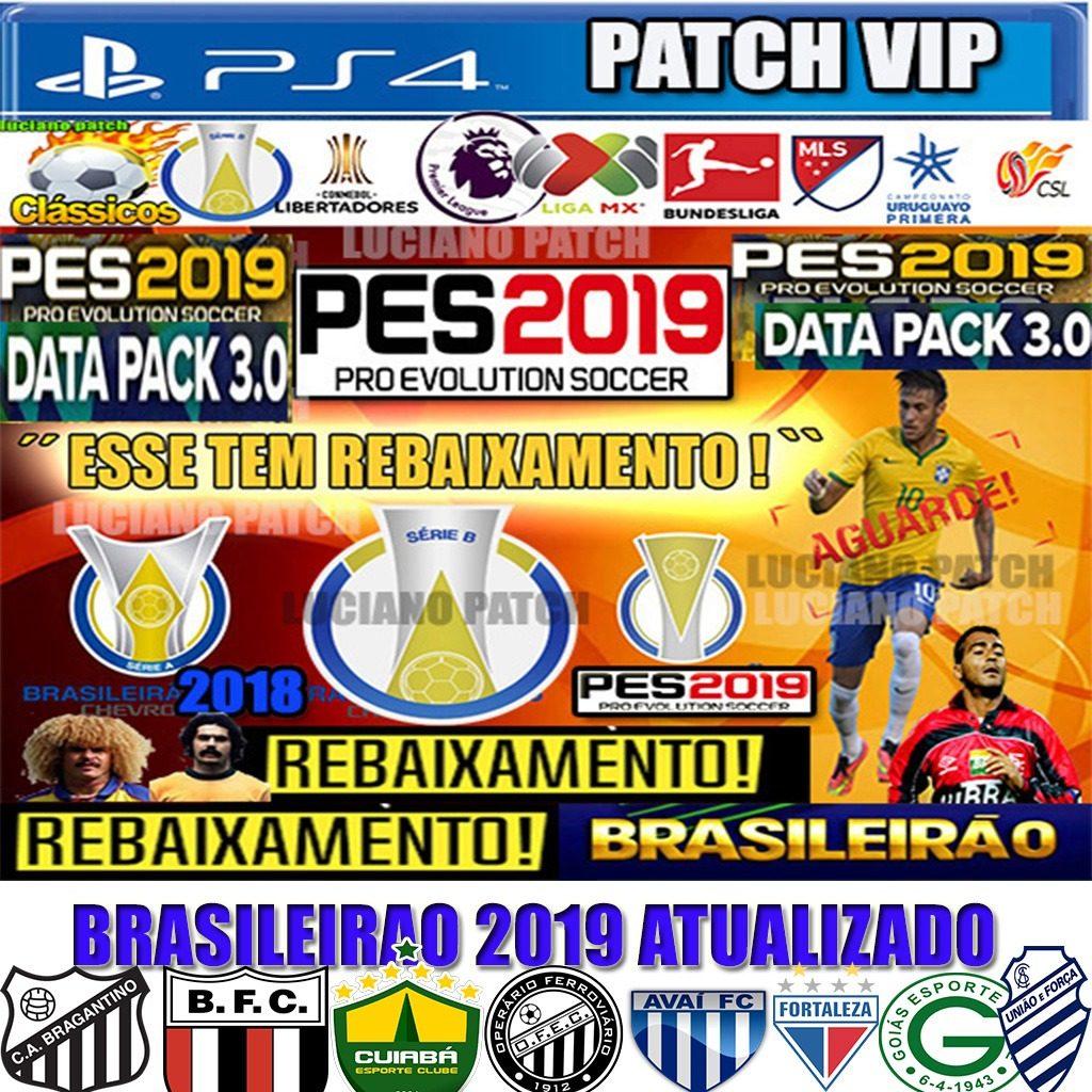💐 Pes 2019 ps4 file option | PES 2019 PS4 PesVícioBr Option Files