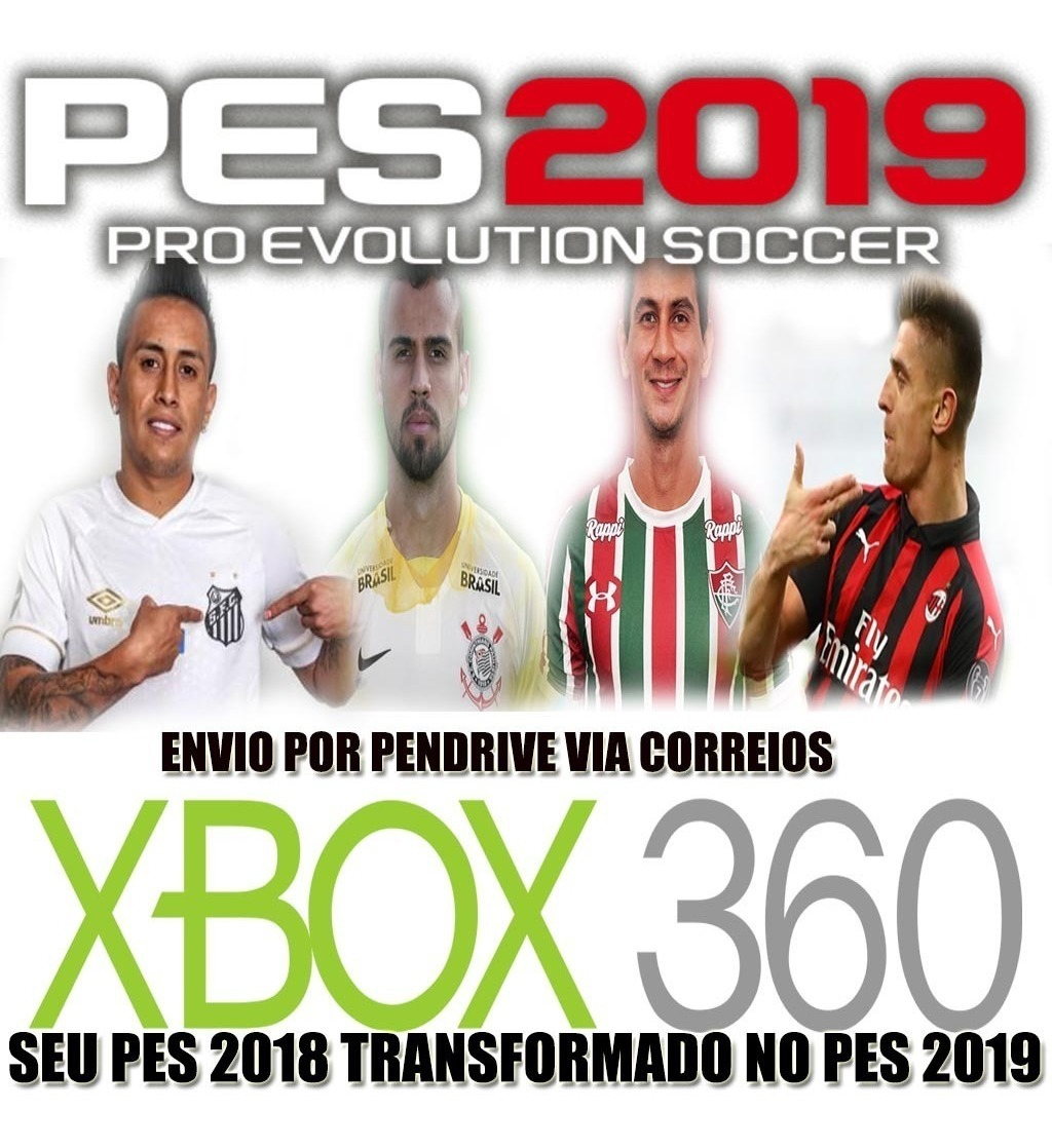 Patch Pes 2019 Ps4 Option V5 Envio Por Pendrive Ja Com Dlc 5