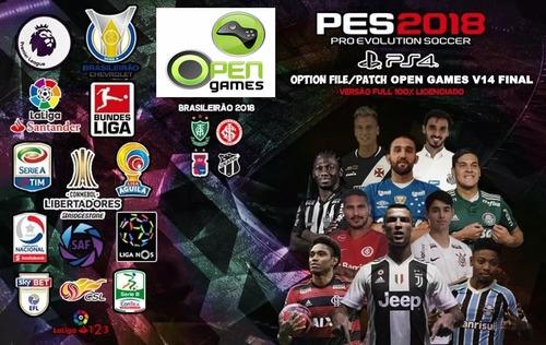 patch pes18 ps4 v14 world cup top envio emediato!
