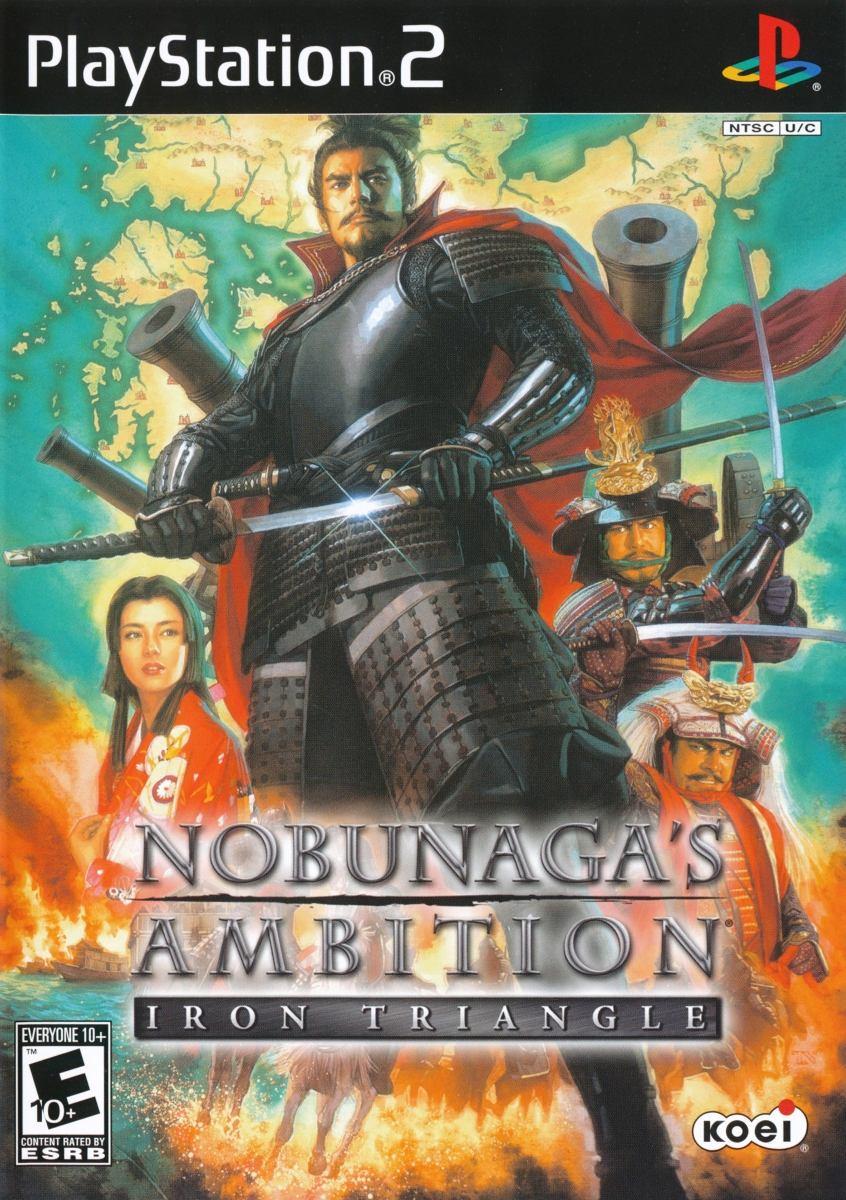 Nobunaga Ambition: Iron Triangle (USA) ISO PS2 - NostalgiaLand