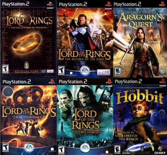 The Lord of the Rings had some pretty good games huh?   ResetEra
