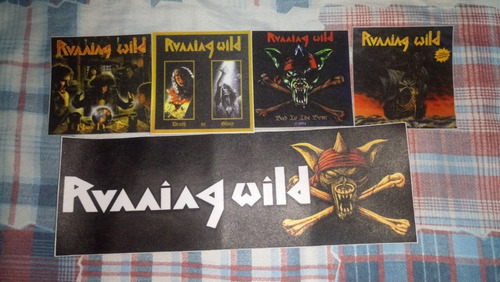 patch running wild hard rock heavy metal thrash