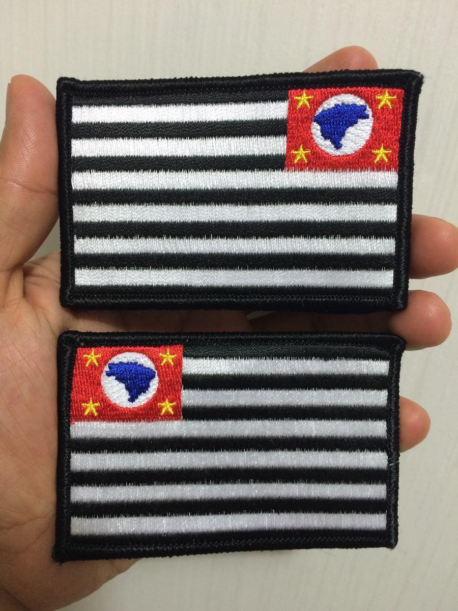 patch tático bandeira são paulo airsoft policia civil (par). Carregando  zoom. e9c4f05dbceca