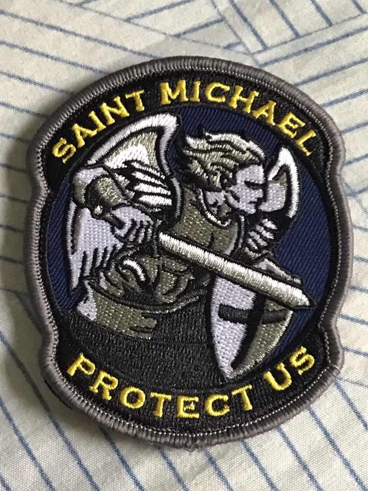 patch tático militar saint michael protect us airsoft usmc. Carregando zoom. 6663222c82e