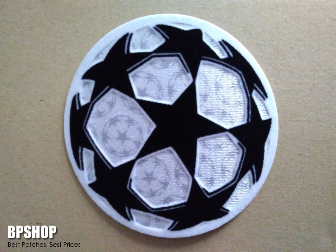 Patch Uefa Champions League Logo Star Ball