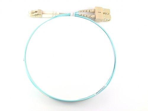 patchcord de fibra optica lc - sc de 2mts duplex