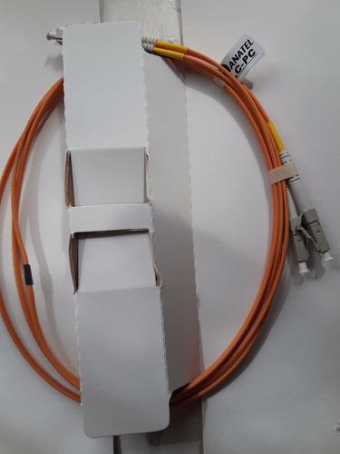 patchcord fibra optica 1.5 mm/duplex lc/lc furukawa
