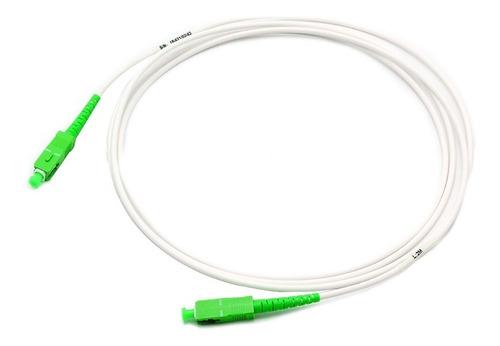 patchcord fibra óptica apto modem movistar original sc/sc 2m