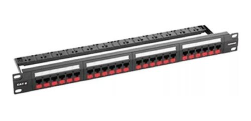 patchera furukawa x 24 ports cat 6 gigalan 35030162