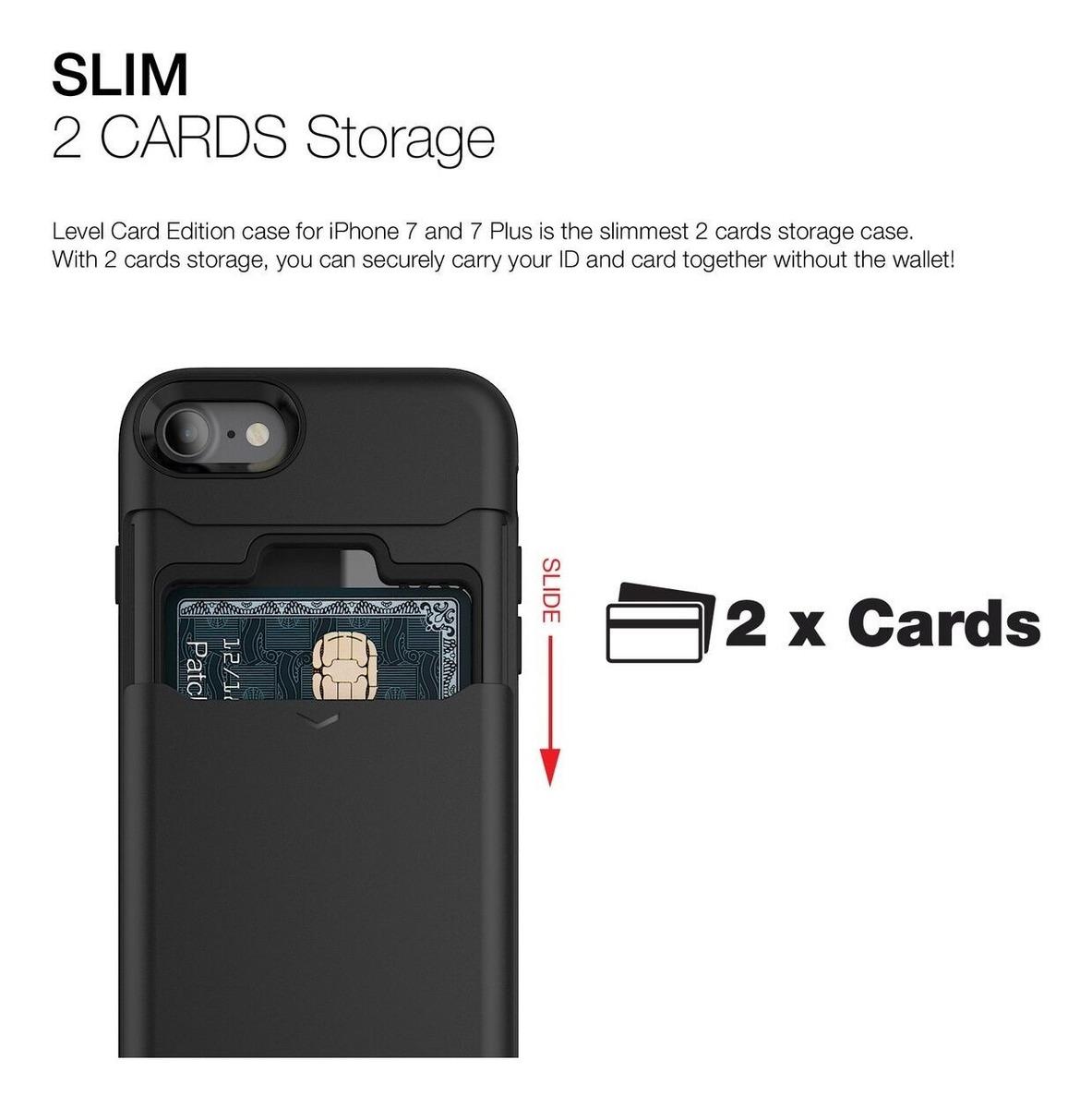 8a568688bd7 Patchworks Level Card - Funda Estuche Tarjetero iPhone 7/8 ...