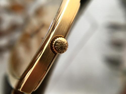 patek philippe ref 3528 gondolo oro de 18kt cuerda caballero