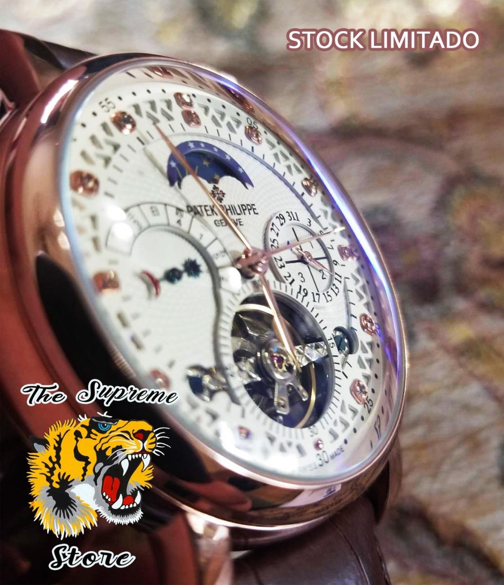 09898f08500 Cargando zoom... 2 reloj patek philippe automatico stock! fotos reales