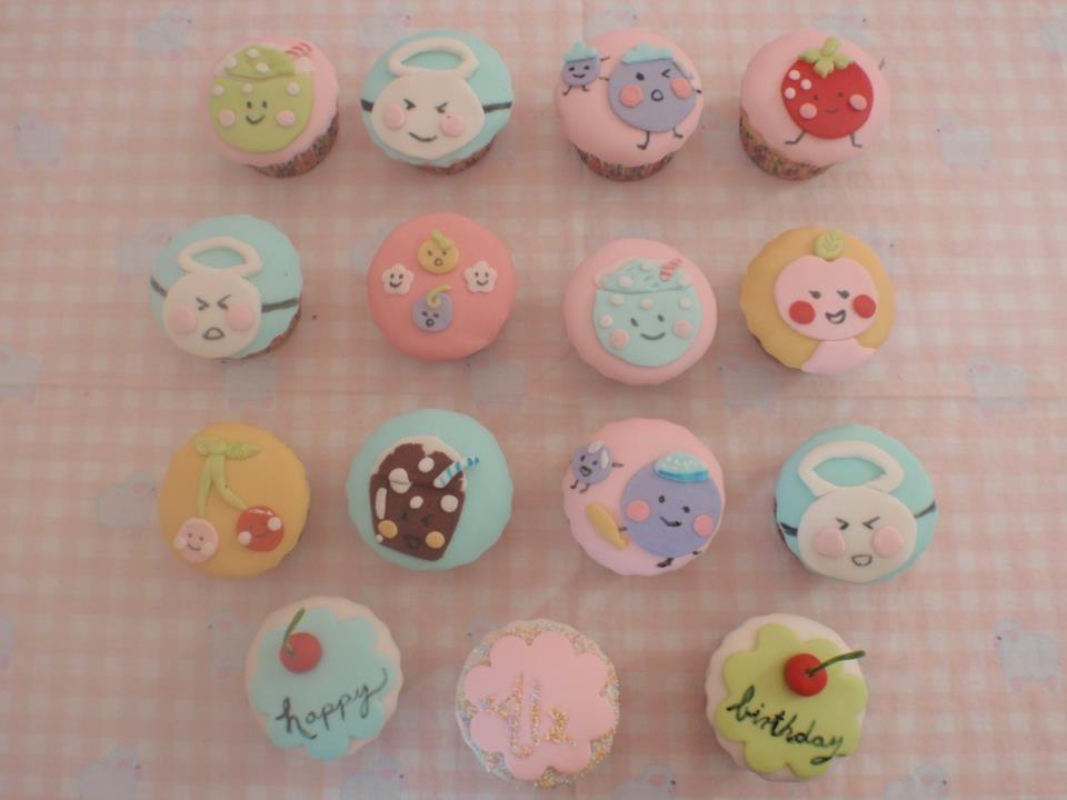 Pateles De Fondant Y Cupcakes Para 14 De Febrero Dda