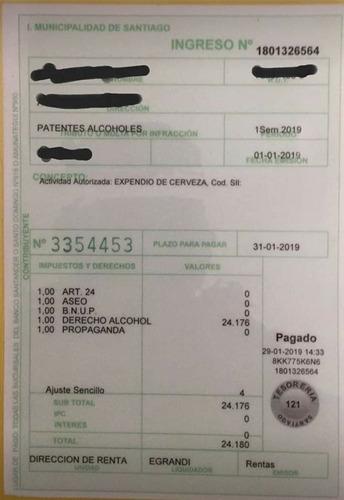 patente de cerveza