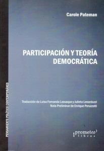 paterman carole - participacion y teoria democratica