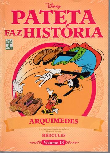 pateta faz história vol. 13 - arquimedes e hércules lacrada
