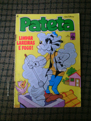 pateta n. 46 - editora abril (maio/84)