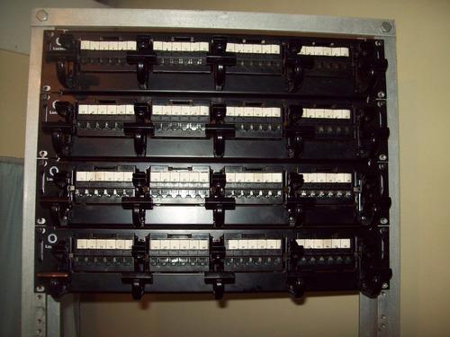 path panel de 24 puertos cat 5e lucent 100% operativos